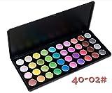 MZP Einlagige Kombination 40 40 Farbe Make-up Lidschatten Farbe Lidschatten set-box