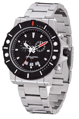 Jorg Gray - JG9500-11 - Montre Homme - Quartz Chronographe - Bracelet Acier Inoxydable Argent