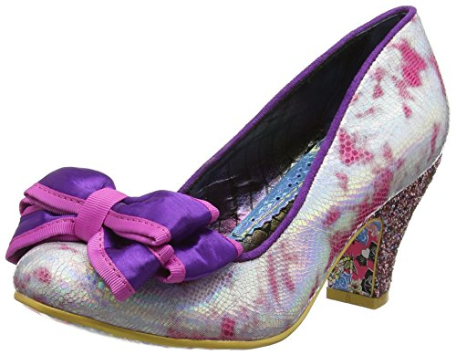 Irregular Choice Damen Ban Joe Pumps, Pink Multi AC, 39 EU