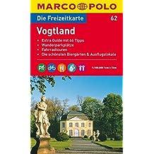 MARCO POLO Freizeitkarte Vogtland 1:100.000