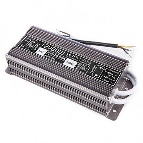 Wasserdichter Transformator für 12V LED-Streifen 100 WATT IP67