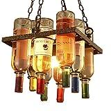 GY Bar Bar Kronleuchter Industrielle Retro Restaurant Lampe Cafe Dekorative Glasflasche Persönlichkeit Kreative Kronleuchter /+*+/