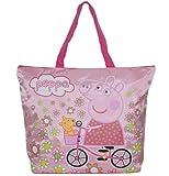 Peppa Pig Strandtasche Handtasche Damentasche Damenhandtaschen Tasche Henkeltasche