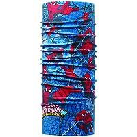 Buff Spiderman Warrior Tubular, Unisex Adulto, Multicolor, Talla Única