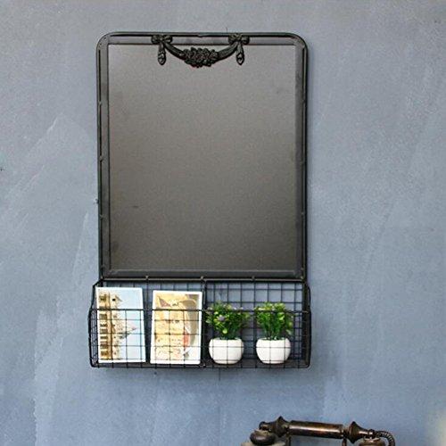 Shelves DUO Bücherregal Tafel Eisen weiß getünchte magnetische A-Frame/Bürgersteig Tafel Zeichen Restaurant Message Board Display 60 * 40 * 10 cm Hängeregal, (Metall-schlüssel-wand-dekor Große)