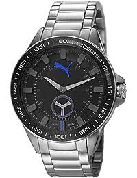 Puma Time Herren-Armbanduhr Cyclone Analog Quarz Edelstahl PU103631001