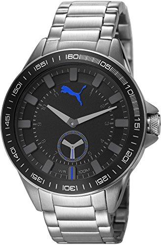 Puma PU103631001 - Reloj de cuarzo para hombres, color plata