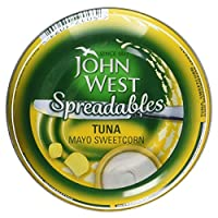 John West Spreadables Tuna Mayo Sweetcorn, 80g