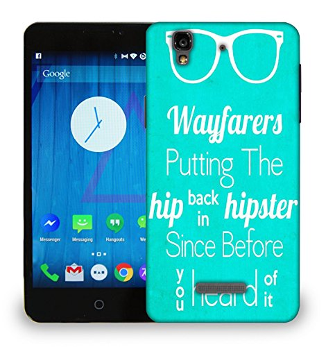 Snoogg WAYFARERS Cooler Before You Know Designer Protective Back Case Cover for Micromax YU Yureka AO5510