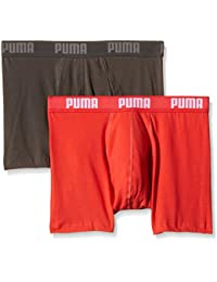 Puma 521015001 - Boxer - Uni - Lot de 2 - Homme