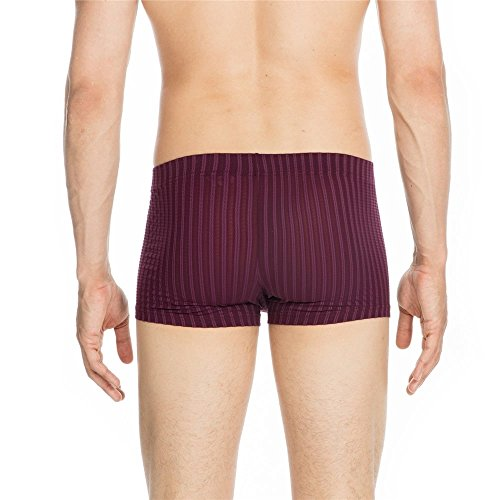 HOM Temptation Emotion Comfort Boxer Brief Burgundy