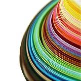 Quilling Papierstreifen 26 Farben 1040 Streifen 3/5/7/10 mm, 4 Sets Papier Quilling Set