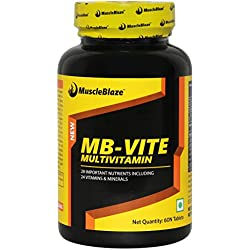 MuscleBlaze VITE Multivitamin - 60 Tablets