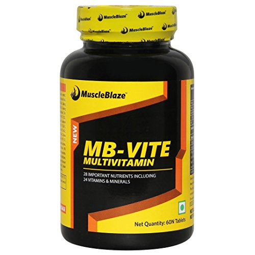 MuscleBlaze VITE Multivitamin, 60 Tablets