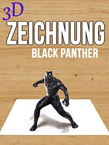 Black Pan (Clip: 3D Zeichnung Black Panther)