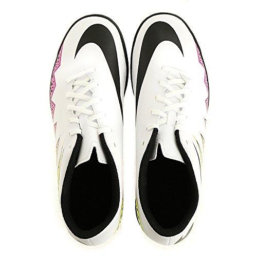 Nike Hypervenom Phade II Tf, Scarpe da Calcio Uomo Bianco (Blanco (Blanco (White/Black-Total Orange-Volt)))