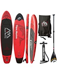 AQUA MARINA Monster SUP inflatable Stand Up Paddle Standard Alu Paddel