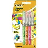 BIC Flex evidenziatori, colori assortiti (Confezione da 4)