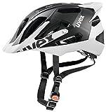Uvex Erwachsene Quatro Pro Fahrradhelm black-white mat 52-57 cm