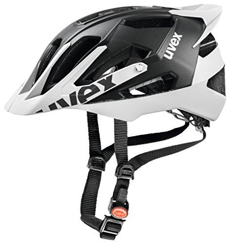 Uvex Quattro Pro - Casco de ciclismo unisex, color negro/blanco, talla 56-61