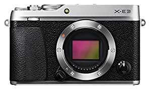 Fuji X-E3 Mirrorless Digital Camera Body (Black)