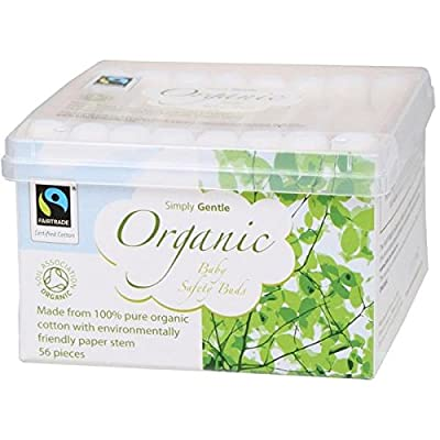 Simply Gentle Organic Baby Safety Buds 56's