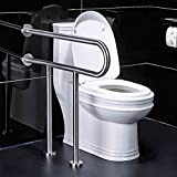 PIGE 304 Acero Inoxidable Apoyabrazos para el inodoro Personas con Discapacidad Viejo Toilet Toilet Toilet Barrier-free Safe Handrails