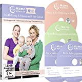 MamaWORKOUT - Rückbildung & Fitness nach der Geburt - 4-DVD-Box zum Sparpreis ++ 1. Rückbildungsgymnastik (neue Version) ++ 2. Rückbildungsgymnastik ... für Mütter ++ von Expertin Verena Wiechers