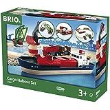 Brio - Set circuito de tren, puerto de cargar y descargar (33061)