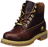 Timberland Unisex Kinder 6 Inch Premium Waterproof Klassische Stiefel, Gelb (Wheat Quartz Exotic H42), 34 EU