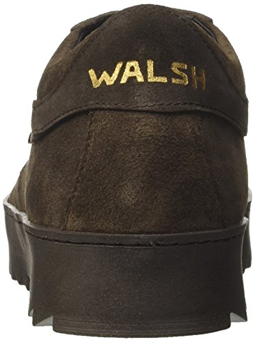 Walsh Herren Midstyle Involucro Suola Sneaker Braun (dk.brown Suede)
