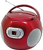 Soundmaster scd2120ro–Boombox CD-Radio, Rot