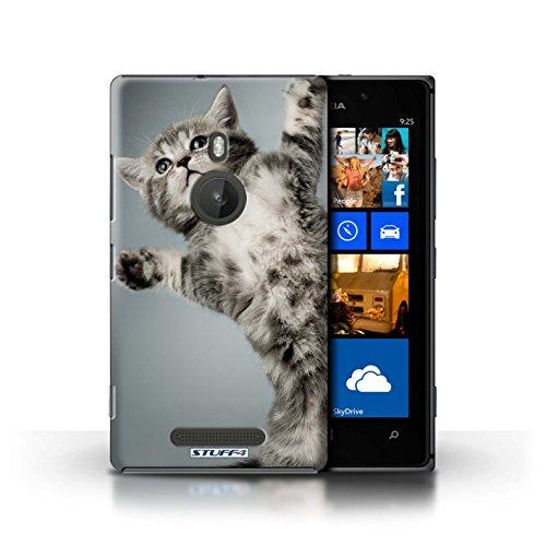 Kobalt® Imprimé Etui / Coque pour Nokia Lumia 925 / Botte en caoutchouc conception / Série Chatons mignons High five