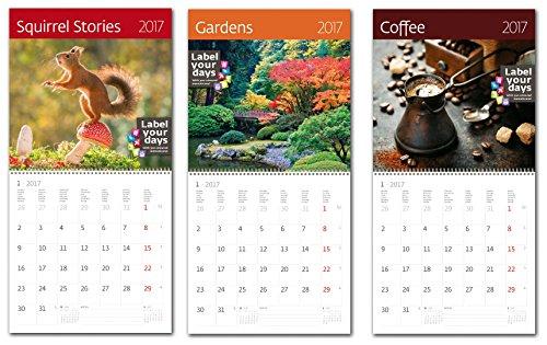 Kalpa Calendari Da Parete 2017Combo Pack Vita Esclusivo Collections-3In 1Combo CA06+ CA11 +