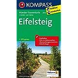 Eifelsteig: Wander-Tourenkarte. GPS-genau. 1:50000 (KOMPASS-Wander-Tourenkarten, Band 2502)