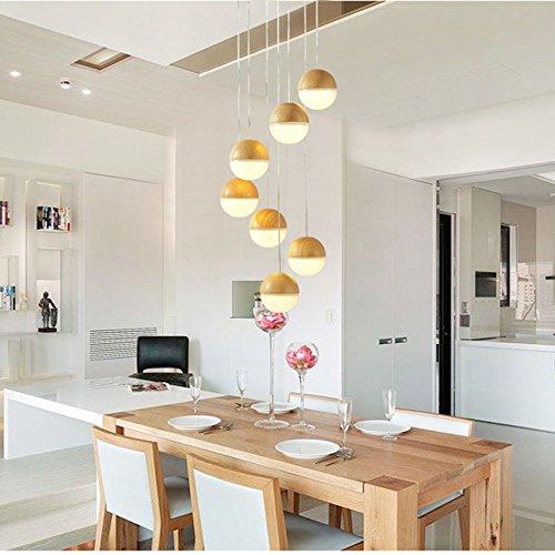 (*Modern pendant light Massivholz Kronleuchter, moderne Wohnzimmer Schlafzimmer Restaurant Bar Holz Kunst Lampen Kronleuchter Haushalts Kronleuchter)