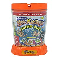 Bandai - Sea Monkeys - Ocean Zoo - Everything included to grow your own adorable Aqua Pets - STEM - 80482