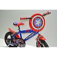 Cicli Ferrareis Bici Bimbo 14 Bici Bambino 14 bicicletta Bimbo 14 capitain America