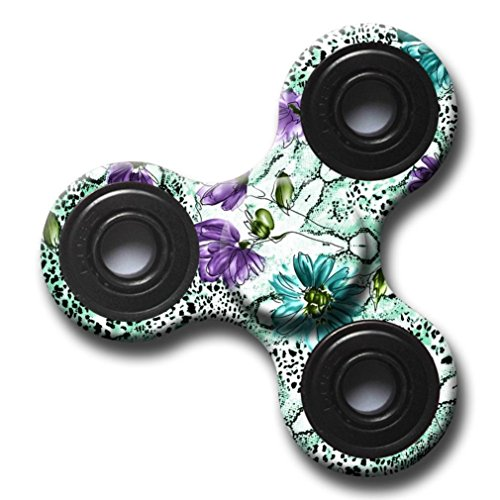Hand Fidget Spinner,Omiky® Milky Galaxy Tri Fidget Spinner Aluminium Alloy Finger Groy Toy for SBDX ADD ADHD Anxiety Autism Suffers (# A) - 2