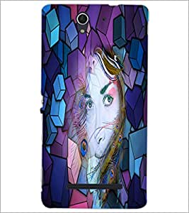 PrintDhaba Fantasy Girl D-2903 Back Case Cover for SONY XPERIA C3 (Multi-Coloured)