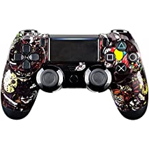 eXtremeRate® Scary Party Bomb front frontal de la carcasa de la carcasa para Playstation 4 PS4 Slim PS4 Pro Controller JDM-040
