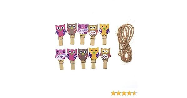 Owls,Wood Craft Shapes x 10