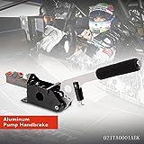 Speedmotor Hydraulic Racing Drift Hand Brake Drifting Rally E-brake Lever, Black