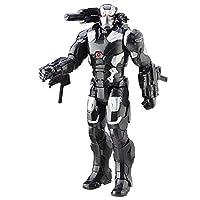 Fedele compagno di Iron Man, anche War Machine non perde occasione per distinguersi nella lotta contro il male. Divertiti con questo dettagliatissimo personaggio da collezione alto 30 cm, capace di assumere ogni posizione grazie ai 5 punti di...