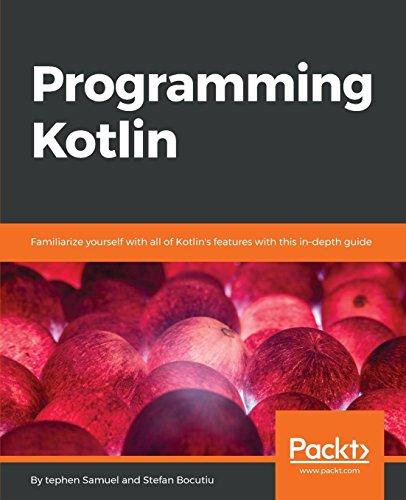 Programming Kotlin por Stefan Bocutiu