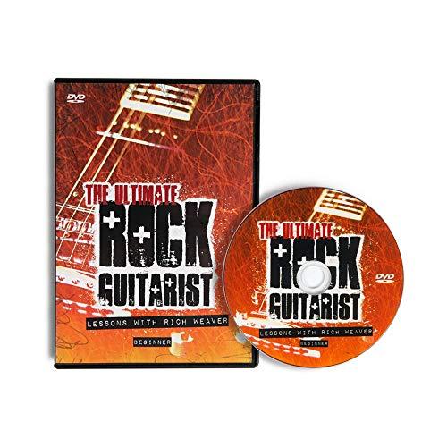 Lindo The Ultimate Rock Guitarist E-Gitarren-Lern-DVD, für Anfänger, englische Sprache