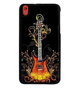Printvisa Ultra Guitar 2D Hard Polycarbonate Designer Back Case Cover for HTC Desire 816 :: H...