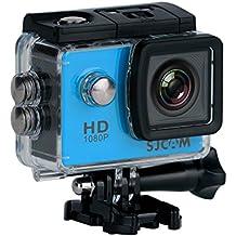 """SJCAM SJ4000 (versión española) - Videocámara deportiva (LCD 2"""", 1080p, 30 fps, sumergible hasta 30m), color azul"""