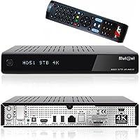 Mutant HD51 Hevc 265 Ultra HD 4K 2160p Linux E2 2x DVB-S2 Tuner inkl. 1000 GB Festplatte