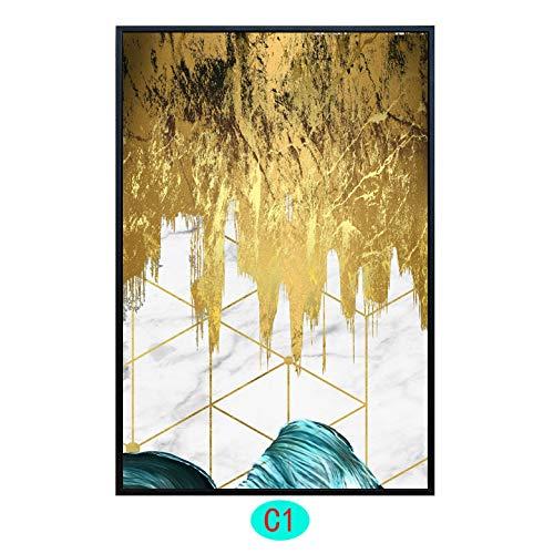 Familylah Stampe E Quadri su Tela Pittura Decorativa del Salone-Pittura Decorativa del Salone, R15,70Cm * 90Cm,